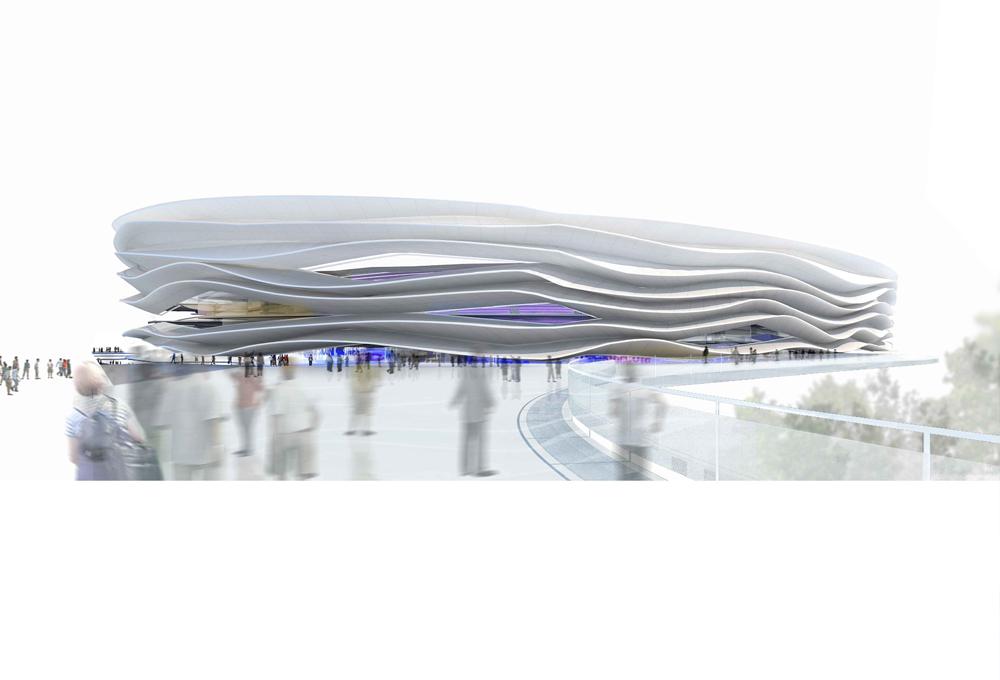 Vista general del estadio