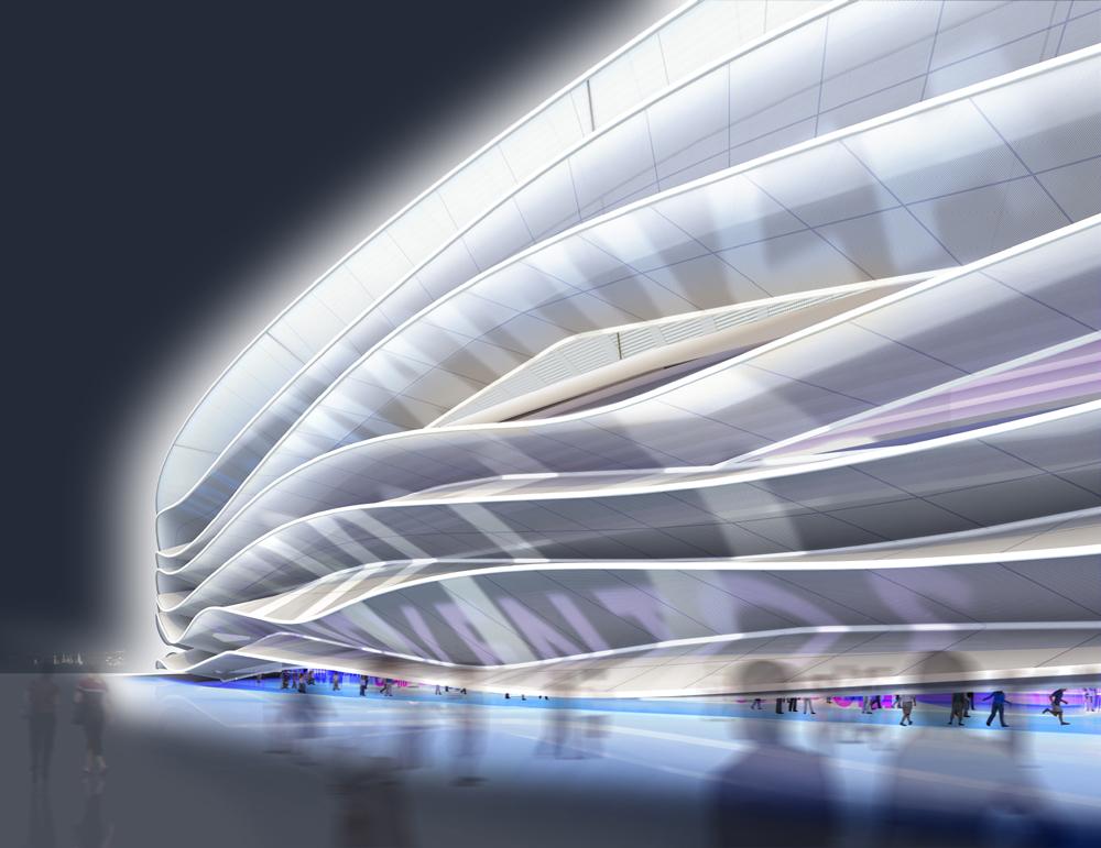 Estadio visión nocturna