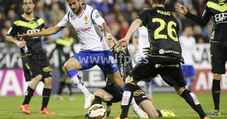 Real Zaragoza 2 – 2 UE Llagostera | Crónica