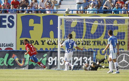 Análisis del Leganés 2 – 2 Real Zaragoza