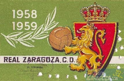 abono real zaragoza 1958-19