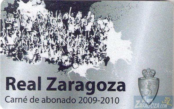 abono real zaragoza 2009-10