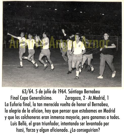 celebracion copa 64