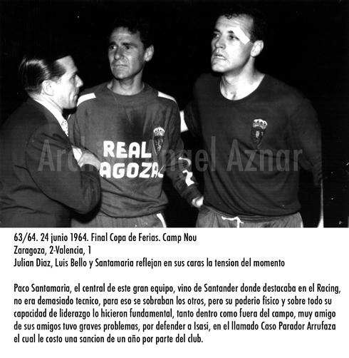 Julián Díaz, Luis Bello y Paco Santamaría