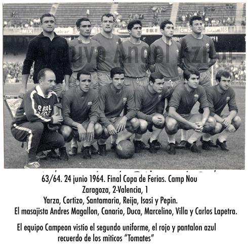 Alineación Real Zaragoza