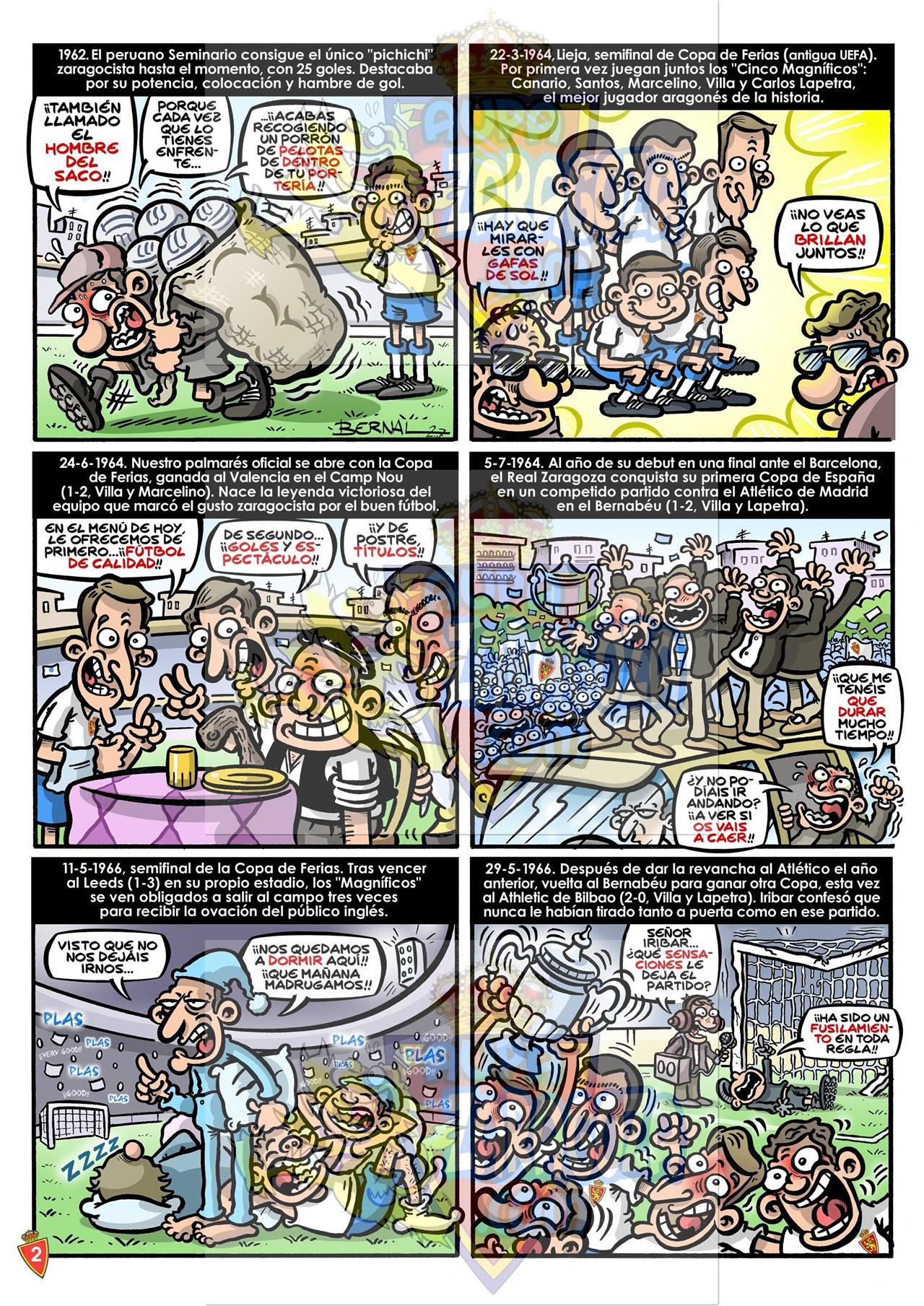 comic 75 años real zaragoza 2