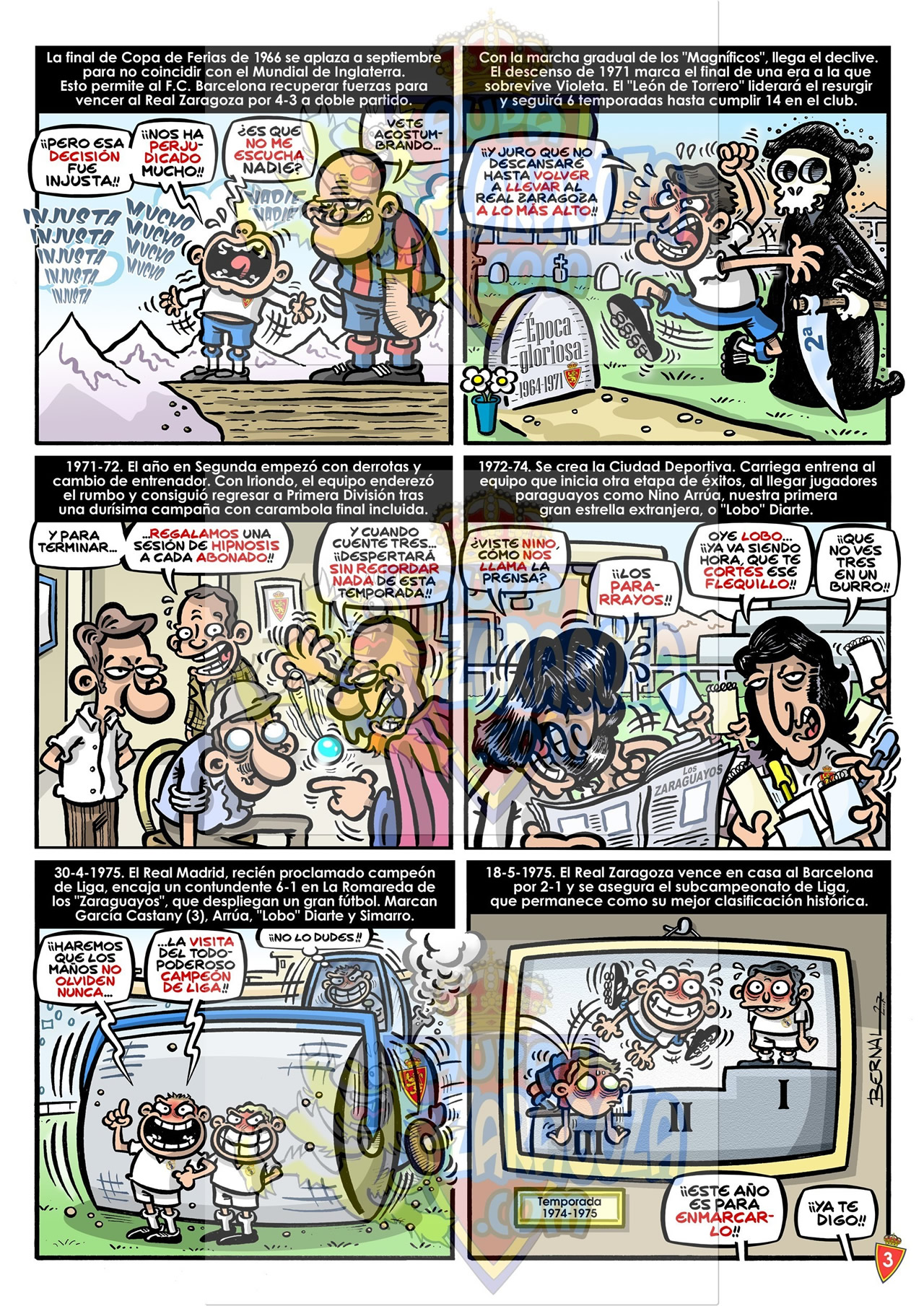 comic 75 años real zaragoza 3