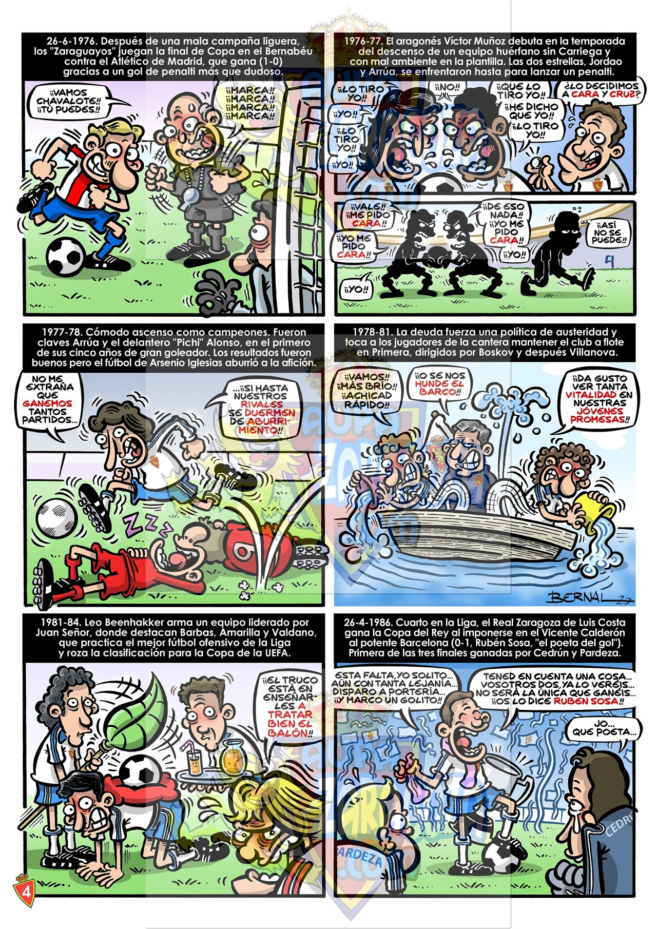 comic 75 años real zaragoza 4