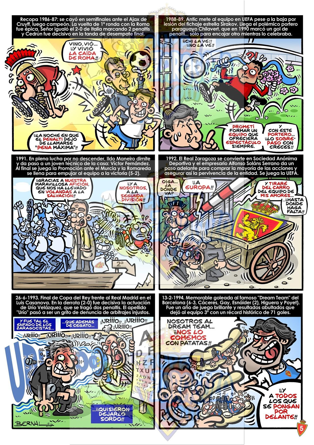 comic 75 años real zaragoza 5