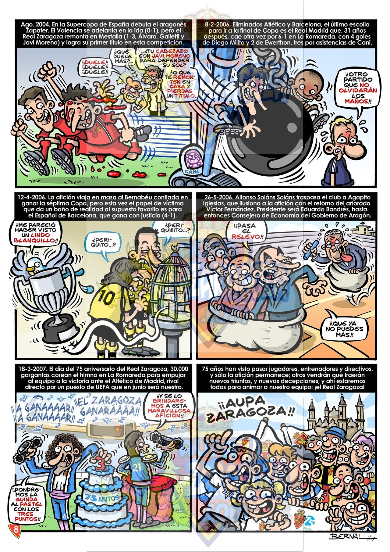 comic 75 años real zaragoza 8