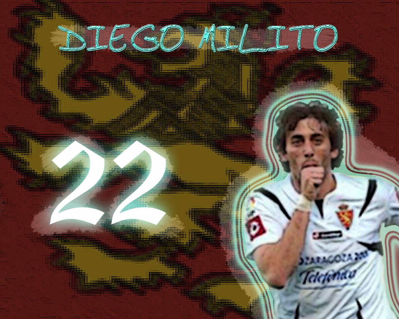 Diego Milito  By Alberto Giménez