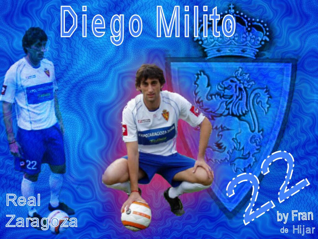 DIEGO MILITO 22 By Fran M.L.