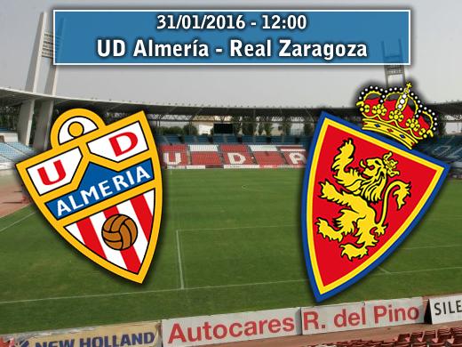 Almería – Real Zaragoza | La Previa