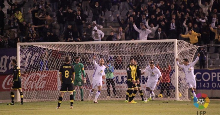 R. Jaén 3 – 0 Real Zaragoza | Crónica