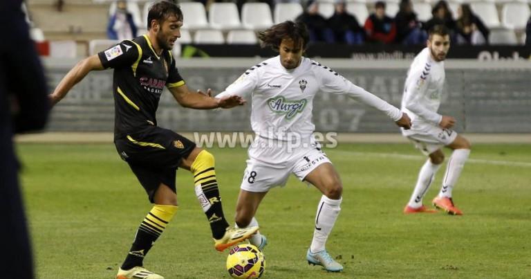 Albacete 2 – 2 Real Zaragoza | Crónica