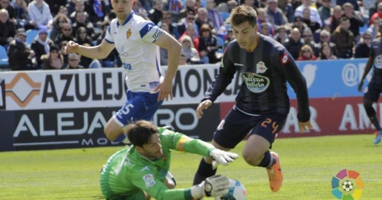 Real Zaragoza 0 – 1 Deportivo Coruña   Crónica