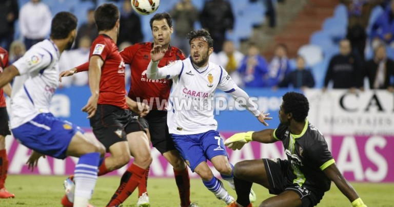 Real Zaragoza 0 – 1 CD Mirandés   Crónica
