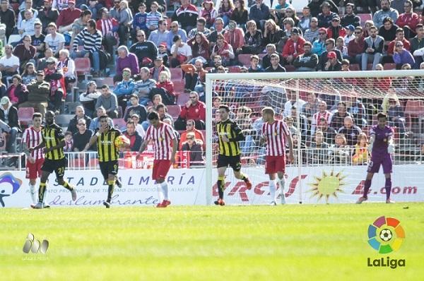 Análisis del Almería 2 – 1 Real Zaragoza