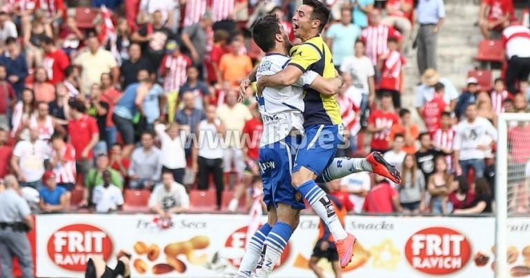 Girona FC 1 – 4 Real Zaragoza | Crónica