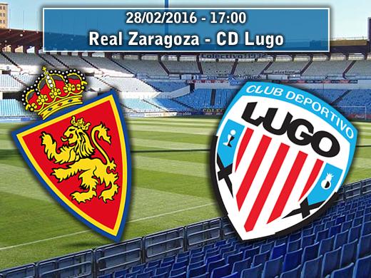 Real Zaragoza – CD Lugo   La Previa