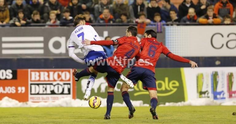 Análisis del Osasuna 0 – 1 Real Zaragoza