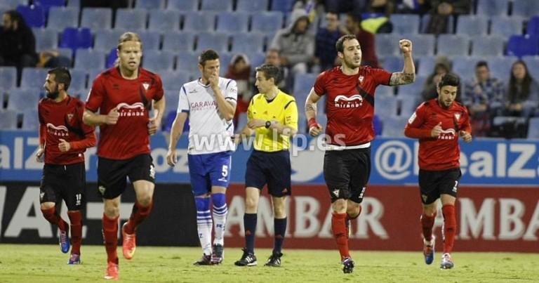 Análisis del Real Zaragoza 0 – 1 Mirandés