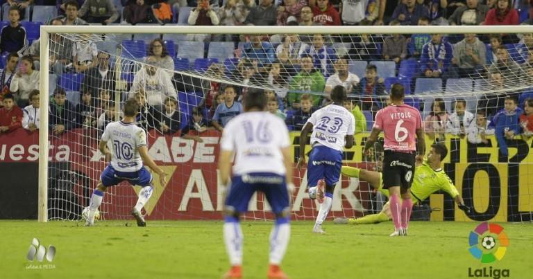 Análisis del Real Zaragoza 2 – 0 Tenerife
