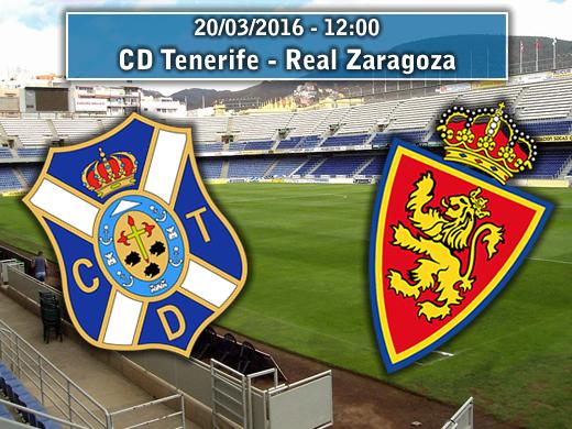 Tenerife – Real Zaragoza   La Previa