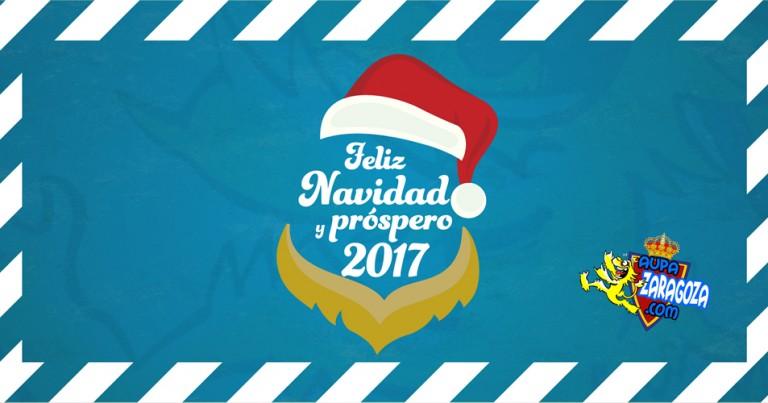 FELIZ NAVIDAD Y PRÓSPERO 2017 DESDE AUPAZARAGOZA.COM