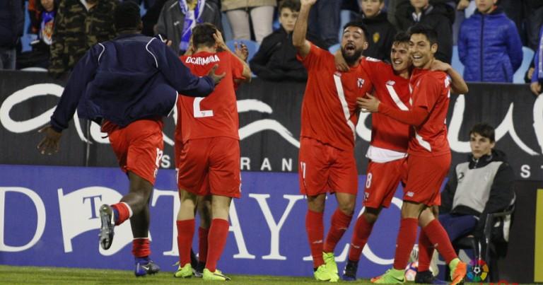 Real Zaragoza 1 – 2 Sevilla Atl. | Crónica
