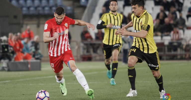 UD Almería 2 – 2 Real Zaragoza | Crónica