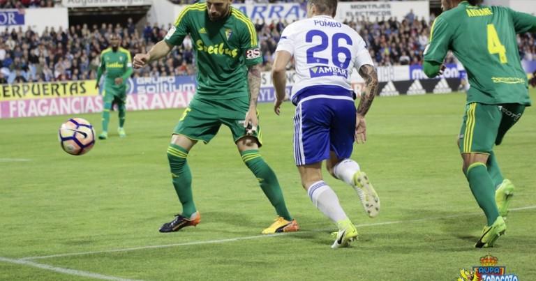 Real Zaragoza 1 – 1 Cádiz C.F. | Crónica