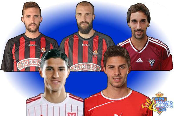 5 fichajes: Alberto Benito, Ángel Martínez, Íñigo Eguaras, Simone Grippo y Oliver Buff