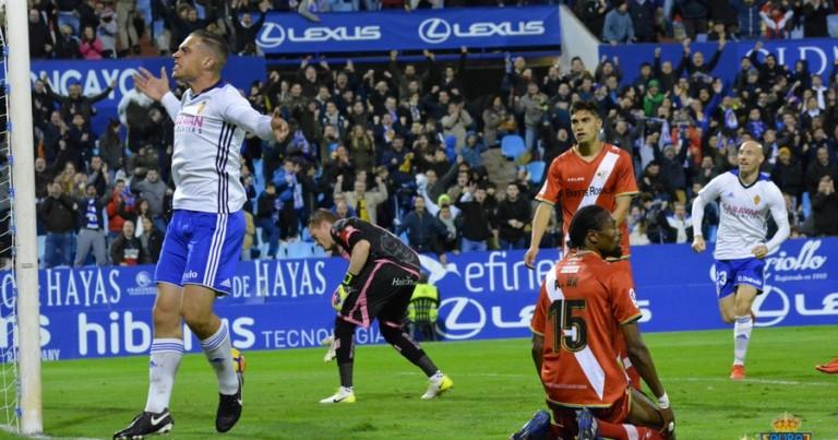 Real Zaragoza 3 – 2 Rayo Vallecano | Crónica
