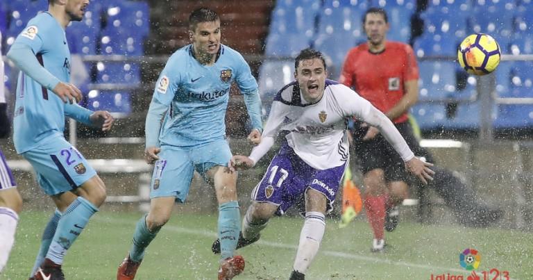Real Zaragoza 1 – 1 FC Barcelona B | Crónica