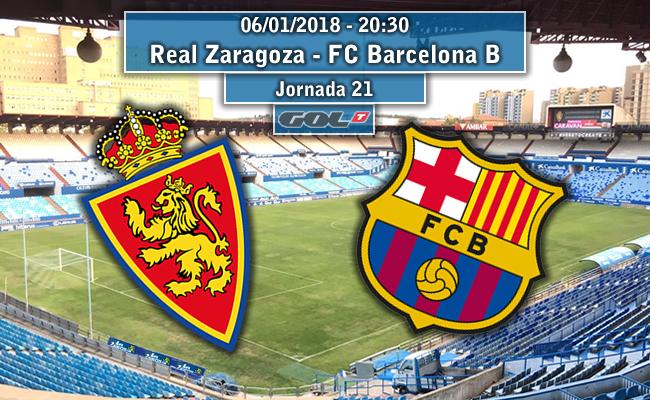 Real Zaragoza – FC Barcelona B | La Previa