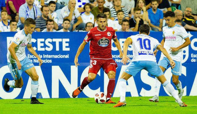 Real Zaragoza 2 – 1 Deportivo La Coruña   Crónica