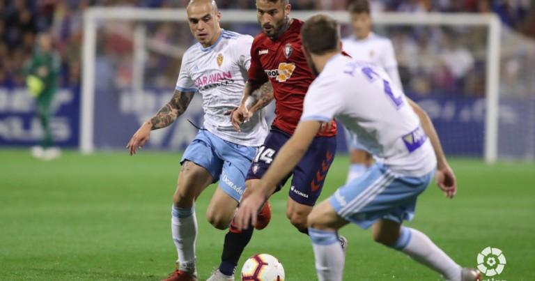 Real Zaragoza 1 – 1 CA Osasuna | Crónica