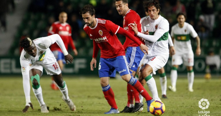 Elche CF 2 – 0 Real Zaragoza   Crónica