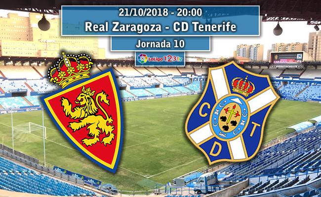 Real Zaragoza – CD Tenerife | La Previa