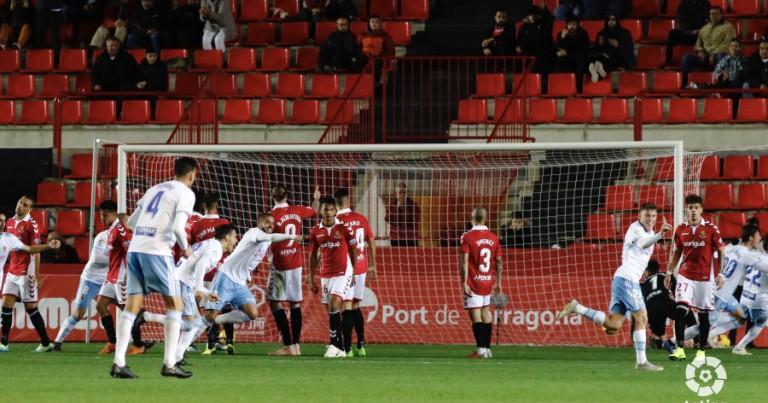Nàstic Tarragona 1 – 3 Real Zaragoza | Crónica