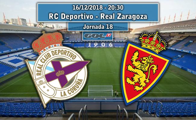 RCD Coruña – Real Zaragoza   La Previa