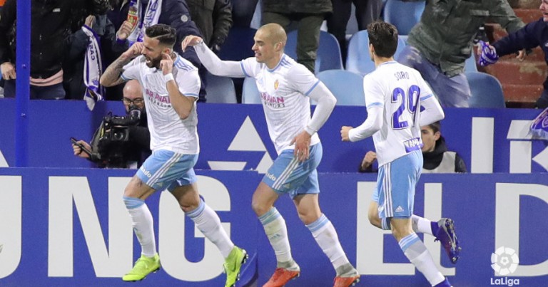Real Zaragoza 2 – 0 R Oviedo | Crónica