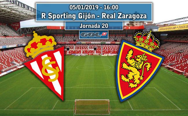 Sporting de Gijón – Real Zaragoza | La Previa