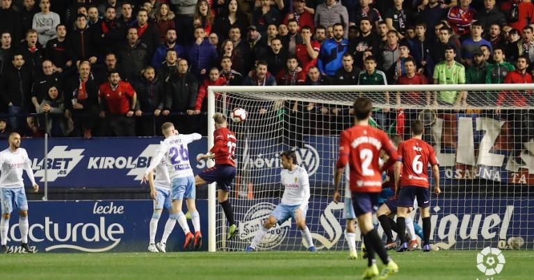 CA Osasuna 1 – 0 Real Zaragoza | Crónica