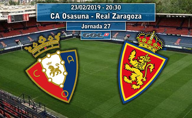 CA Osasuna – Real Zaragoza   La Previa