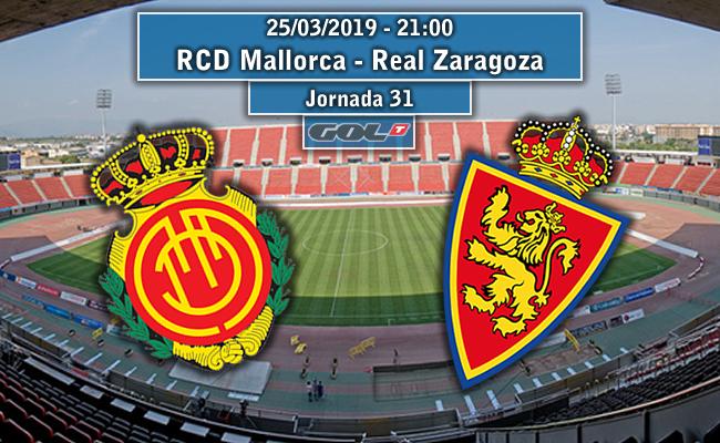 RCD Mallorca – Real Zaragoza   La Previa