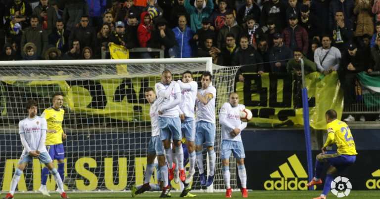 Cádiz CF 3 – 3 Real Zaragoza | Crónica
