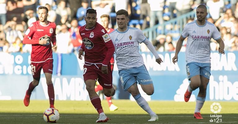 Real Zaragoza 0 – 1 RCD La Coruña | Crónica