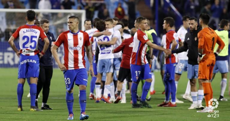 Real Zaragoza 4 – 2 R Sporting Gijón | Crónica